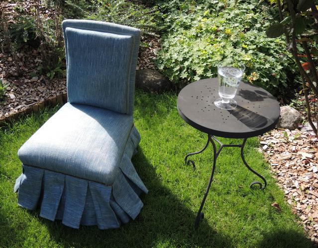 stuhl janis gartenstuhl aus stoff mit armlehnen saia stuhl mit armlehnen by varaschin with. Black Bedroom Furniture Sets. Home Design Ideas