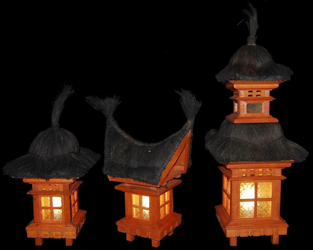 balinesische lampen