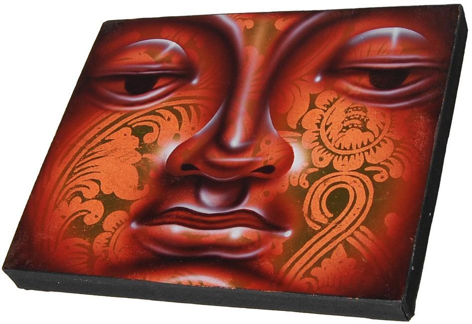 Airbrush Buddha Bild 2