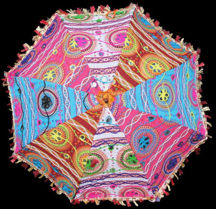 Indischer Sonnenschirm 13