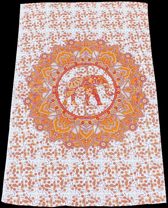 elefanten mandala tuch 1