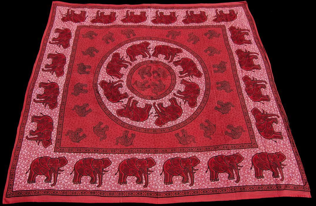 elefanten mandala tuch 2