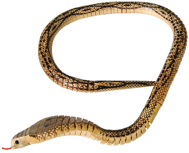 beissende Kobra Zoo